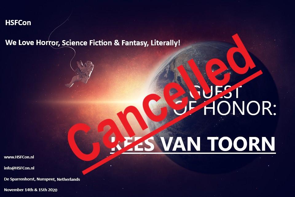 Kees van Toorn: Cancelled